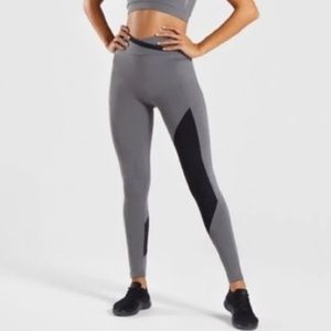 Gymshark grey color block leggings